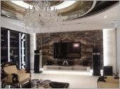 大理石、花崗石電視牆面