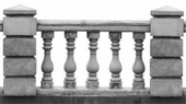 陽台水泥欄杆扶手