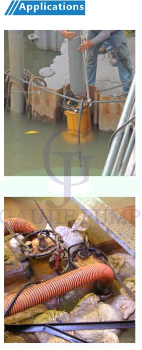 PF系列 輕載泥砂泵浦