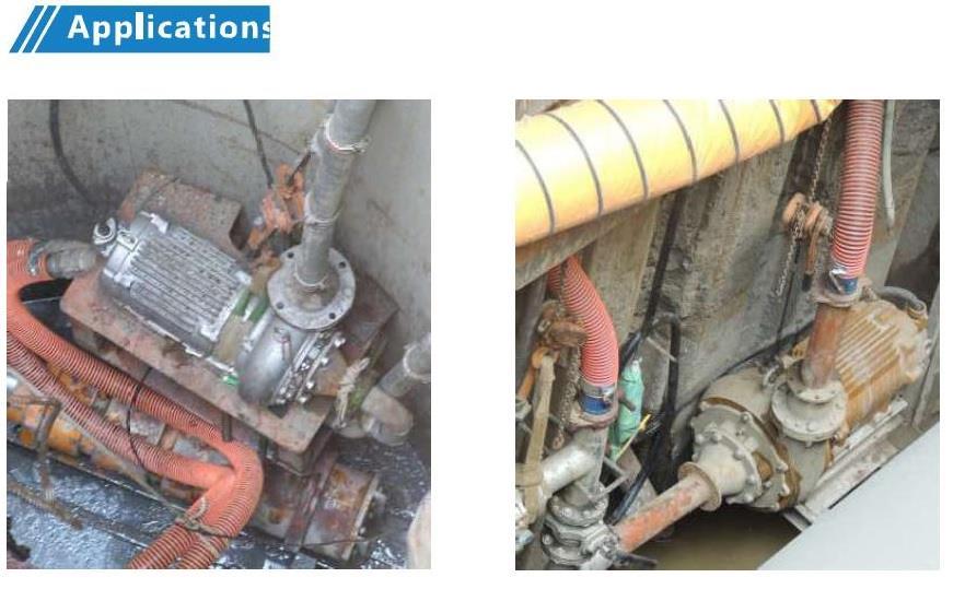 NDV/NDS抽沙泵浦/中繼泵系列
