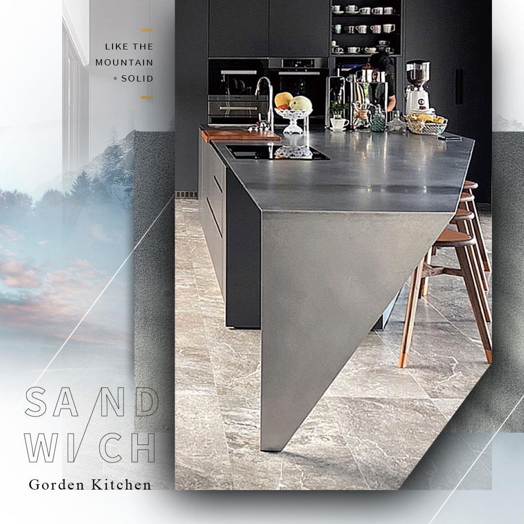 Gorden高登廚櫃廚房設計-【山銘。緻】